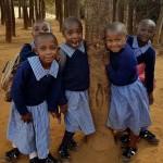 Förskolebarn från Mau Summit